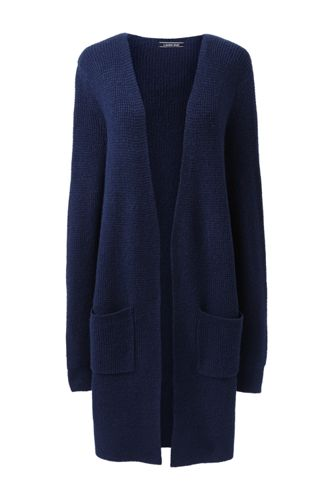 Women's Boucle Long Cardigan