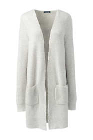 Women's Boucle V-neck Cardigan Sweater