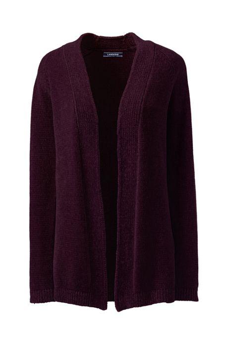 Women's Tall Chenille Open Cardigan Sweater