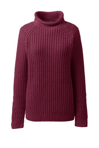 Women's Plus Lofty Blend Roll Neck Jumper