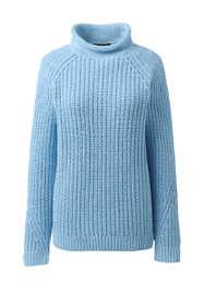 Women's Plus Size Cozy Lofty Shaker Roll Neck Sweater