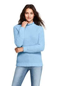 Women's Petite Cozy Lofty Shaker Roll Neck Sweater