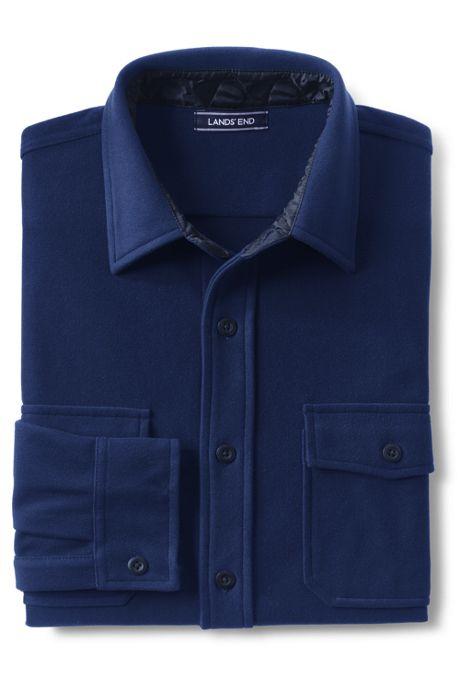Men's Traditional Fit Fleece Chamois Shirt