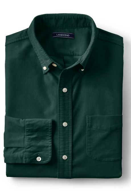 Men's Tall Traditional Fit Stretch Corduroy Shirt