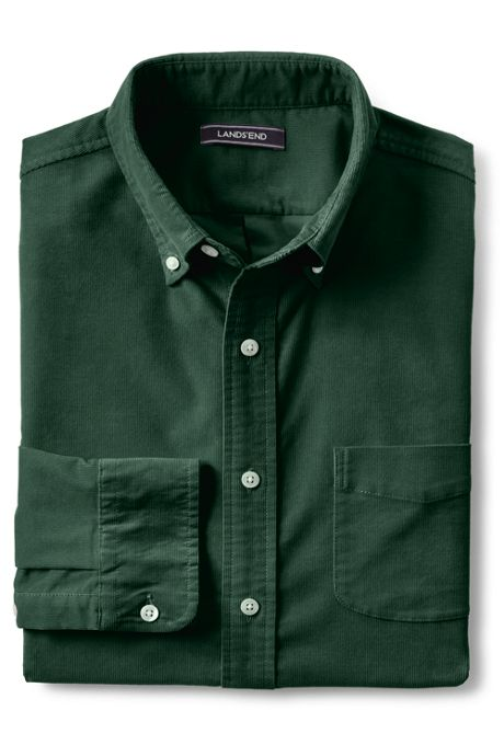 Men's Tall Traditional Fit Comfort First Corduroy Shirt