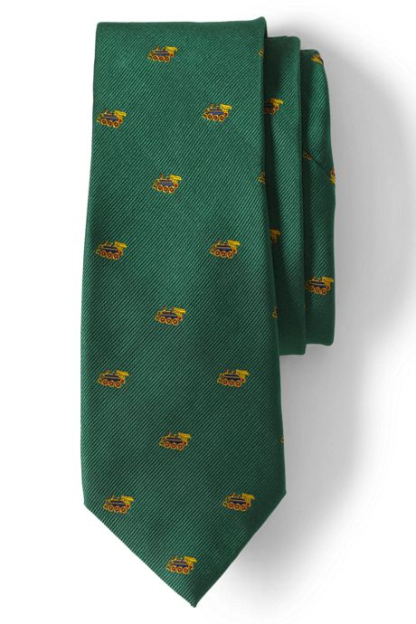 Men's Long Toy Train Tie