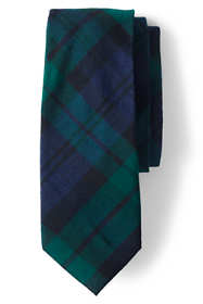 Men's Silk Wool TartanTie