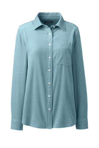 Bluse aus Baumwoll-Feincord
