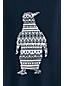 Toddler Boys' Penguin Pattern Cotton Jumper