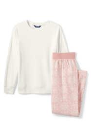 ba73bfe38 Women s Long Sleeve Fleece Pajama Set