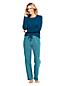 Le Pyjama 2 Pièces en Coton Stretch, Femme Stature Standard