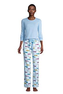 Le Pyjama 2 Pièces en Coton Stretch, Femme