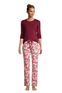 Gemustertes Jersey Pyjama-Set