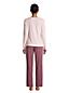 Le Pyjama 2 Pièces en Coton Stretch, Femme Grande Taille