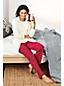 Women's Plus Patterned Fleece Pyjama Set