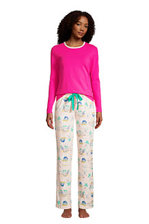 Women's Cotton Rich Jersey Pyjama Set