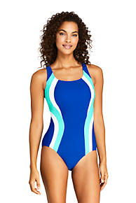 29b7312244 Women s Chlorine Resistant Square Neck One Piece Swimsuit