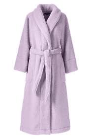 Women's Plus Size Sherpa Fleece Long Robe