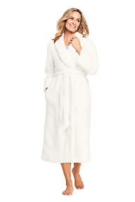 Women s Sherpa Fleece Long Robe 45d08ef4b