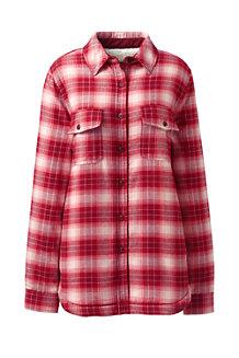 Women's Sherpa Lined Flannel Shirt
