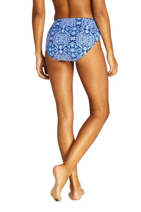 Women's High Waisted Bikini Bottoms Print