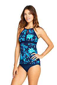b09f106a55b66 Women's Keyhole Tankini Top Swimsuit Print