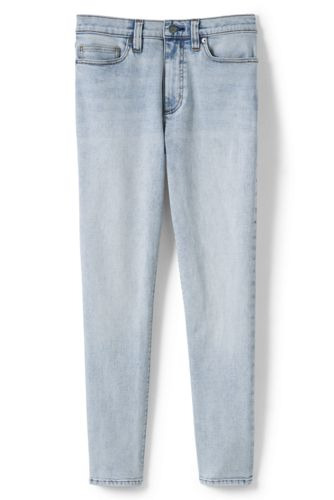 Women's Plus High Waisted Ankle Jeans