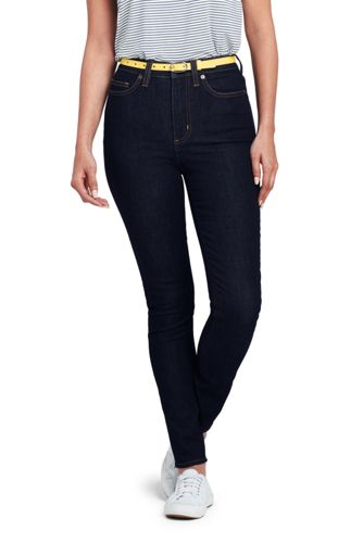Women's Petite High Waisted Ankle Jeans