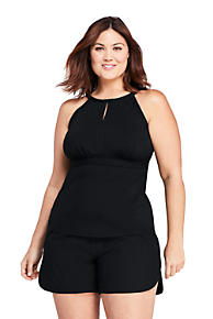 8c084def3a8 Women s Plus Size Keyhole Tankini Top Swimsuit