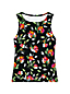 Women's Beach Living Print High Neck Tankini Top