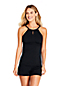 Women's Plus Beach Living Keyhole Tankini Top