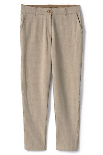 Le Pantalon Slim Bi-Stretch Envers Brossé, Femme Stature Standard