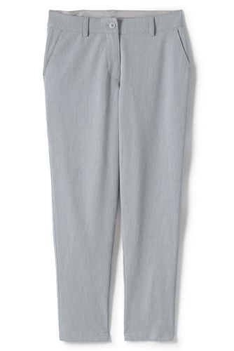 Women's Petite Bi-Stretch Tapered Leg Trousers