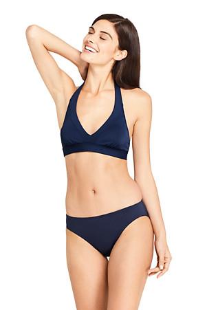 0b13faa19ccc5 Women's Beach Living Halter Neck Bikini Top | Lands' End