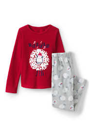 Toddler Girls Fleece Pajama Set