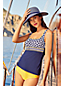 Tankini Beach Living Imprimé Bonnet E, Femme Stature Standard