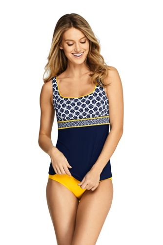 Women's Keyhole Tankini Top Swimsuit