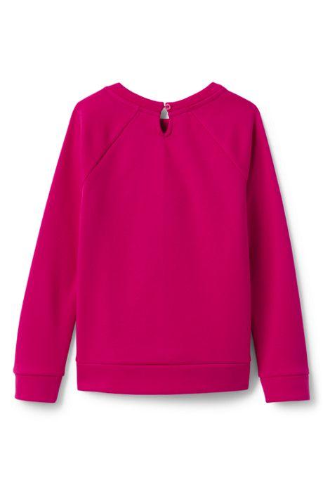 Girls Fuzzy Bear Sweatshirt