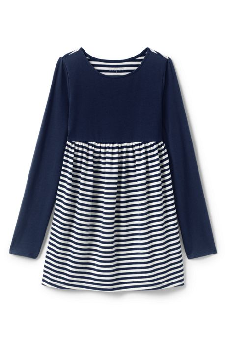Girls Gathered Yoke Tunic Top