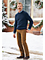 Le Pull Marin Chiné en Coton Mélangé, Homme Stature Standard