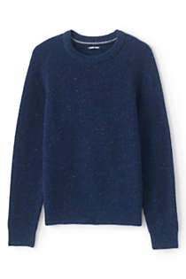 Men's Tall Lighthouse Shaker Crew Sweater, Front
