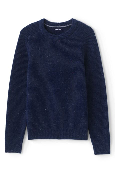 Men's Lighthouse Shaker Crew Sweater