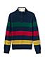 メンズ・ウールブレンド・ボタンモック・セーター/長袖