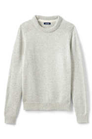 Men's Tall Marl Lighthouse Crewneck Sweater