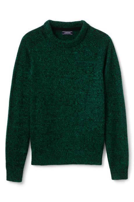 Men's Tall Lighthouse Marl Crew Sweater