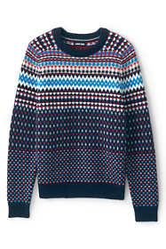 Men's Lighthouse Fairisle Crew Sweater