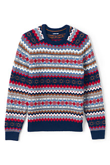 Men's Fair Isle Jumper