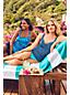 Tankini Croisé Beach Living à Motifs Bonnet E, Femme Stature Standard