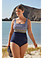 Tankini Galbant Beach Living à Motifs, Femme Grande Taille