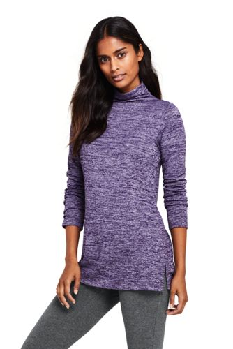 La Tunique Ample en Jersey Ultra-Doux Stretch, Femme Stature Standard
